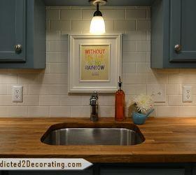 Tiny Condo Kitchen Makeover, Home Decor, Kitchen Design