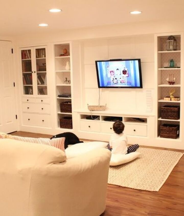 design and decor, basement ideas, home decor, shelving ideas, storage ideas