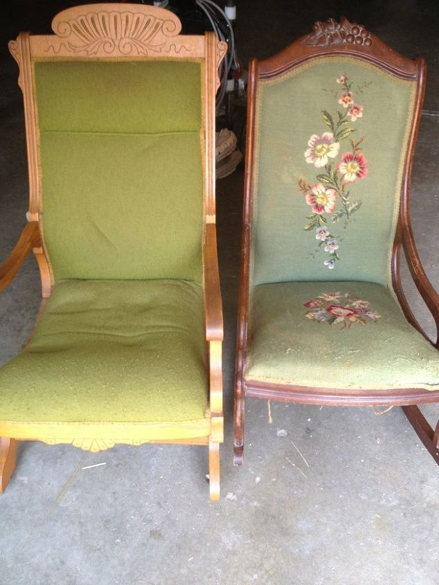 what would you do with these chairs, home decor, painted furniture