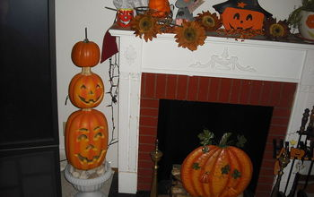 My Fall and Inside Decorating for Halloween
