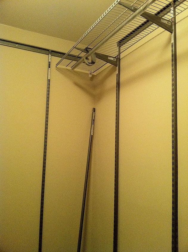 So I buy the Closet Made set up. Installed the top mounting bracket as long as this is level everything falls into place.