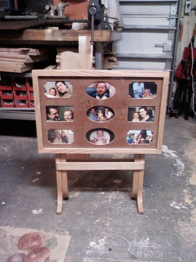 TV tray picture frame