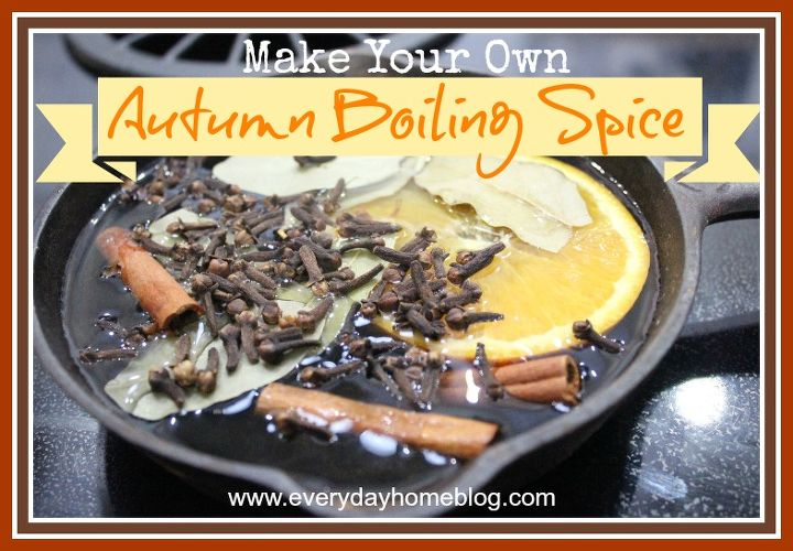 This 4-ingredient Boiling Spice will fill your home with the scents of Fall.