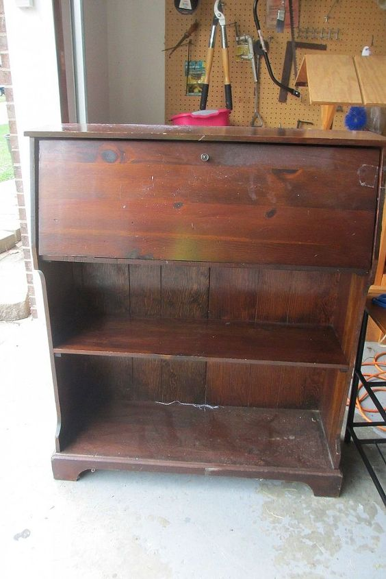 repurposing again, painted furniture, repurposing upcycling, It stands 42 in high and the shelves are 10 in deep