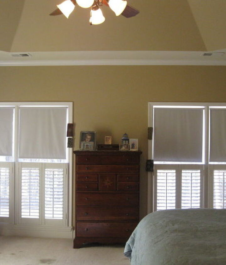 Windows. Want to get rid of the blinds completely. Privacy is not an issue.