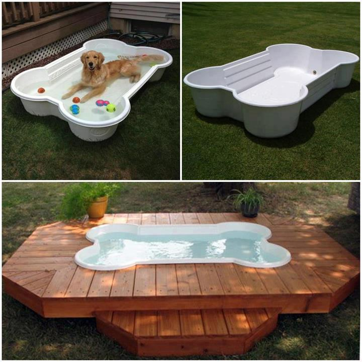 We have a plastic pool now but this would be just perfect. They could play in their pool and I could cool off in mine. heheh.