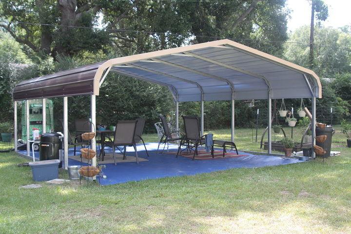 my new outdoor room, outdoor living