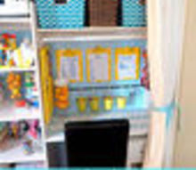 i converted my coat closet to a craft closet work space, closet, craft rooms, organizing
