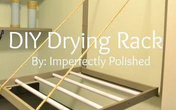 DIY Drying Rack Tutorial
