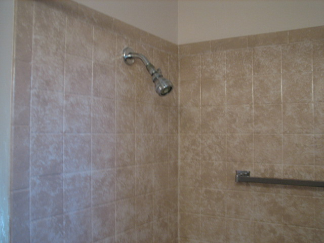 i put a faux finish on my ugly old mustard yellow bathroom tiles including  the,