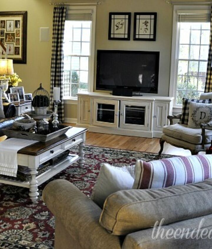 family room reveal making what you have work, flooring, home decor