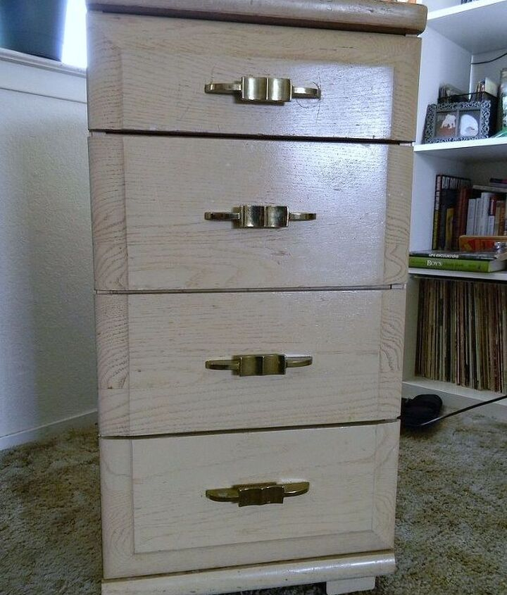 small dresser about two feet tall