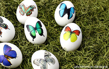 Looking for a Non Messy Way to Decorate Easter Eggs? Try Tattoos!
