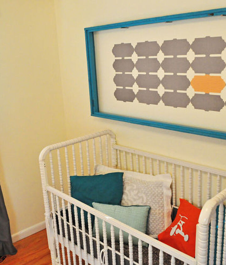 my latest huge diy wall art cost me only 4, home decor, repurposing upcycling