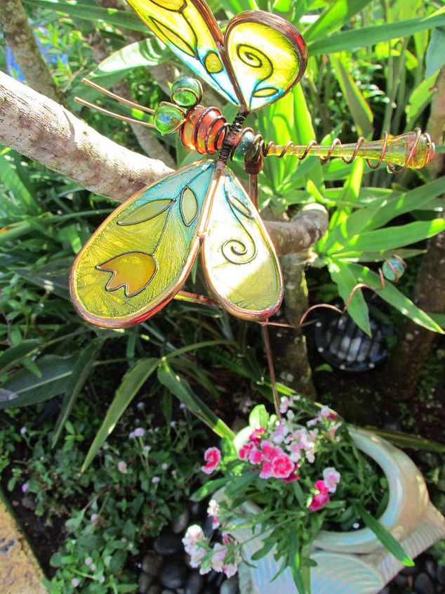 Of course we must have a little whimsy with the dragonfly