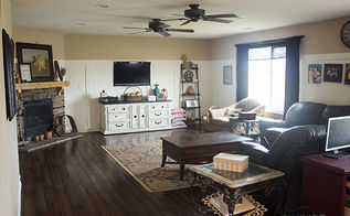 my family room makeover, home decor, living room ideas, painting