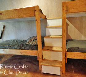 DIY Double Bunk Bed Design Hometalk