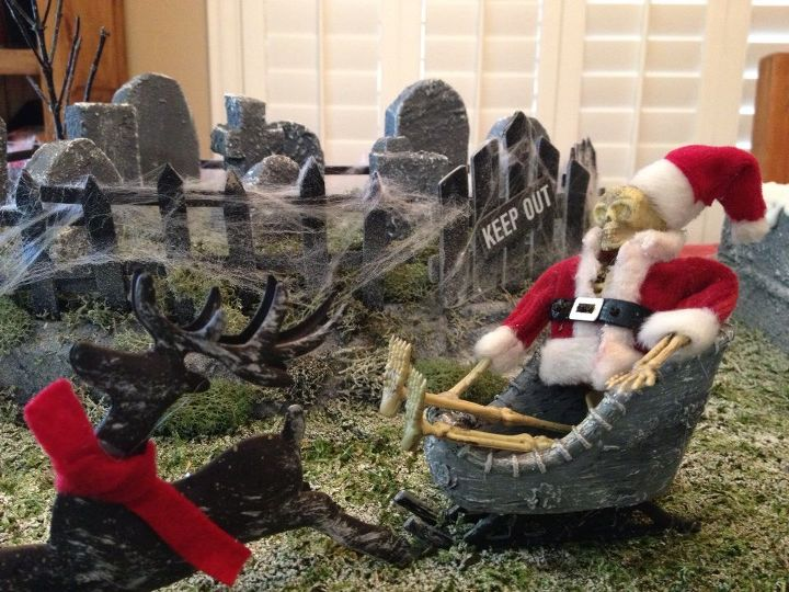 Skeleton Clause in his sleigh