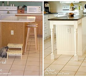 Taking Your Kitchen Island From Dated To Darling My Kitchen Island  Transformation, Home Decor,