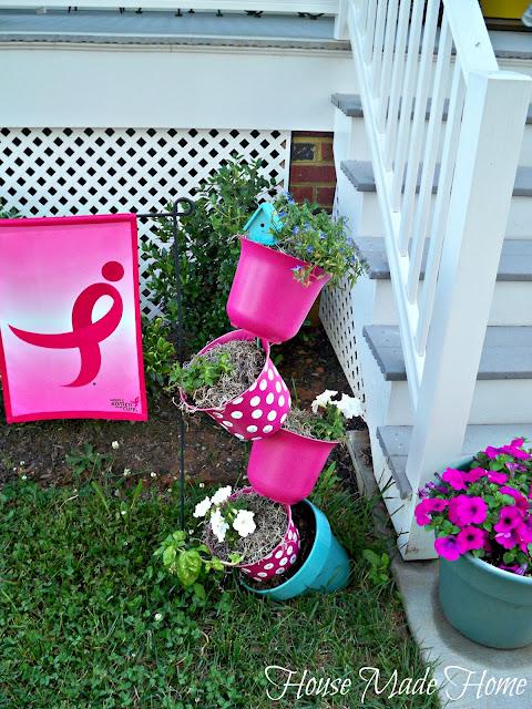 topsy turvy madd planter, gardening