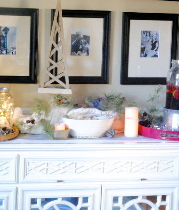 fairy light jars, lighting, seasonal holiday decor, They make a perfect and magical addition to your holiday buffet