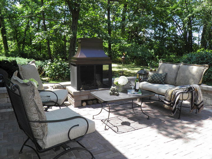 my favorite room is our outdoor living room we have coffee there every morning it, outdoor living, patio, pets animals