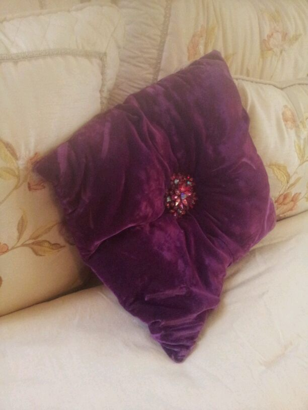 a special pillow, crafts
