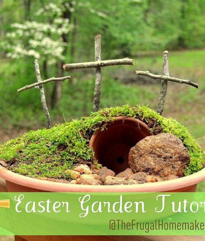 easter garden, easter decorations, gardening, seasonal holiday d cor