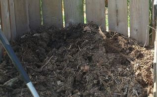 5 ways to use compost effectively in your garden and landscape, composting, container gardening, flowers, gardening, go green, landscape, perennial, Compost waiting to be used in our bin