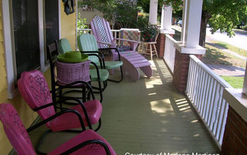 Spruce Up The Porch for Summertime!