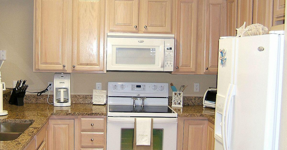 Kitchen Cabinet Remake Pickled To
