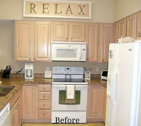 Beau Kitchen Cabinet Remake Pickled To Beachy, Chalk Paint, Kitchen Cabinets,  Kitchen Design,