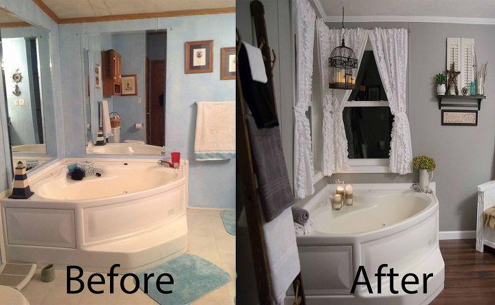 bathroom before and afters, bathroom ideas, diy, home decor