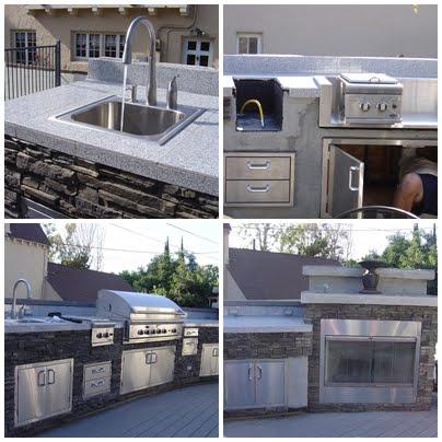 installing a deck and outdoor kitchen, decks, diy, how to, kitchen design, outdoor living