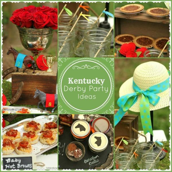 kentucky derby party ideas, crafts, wreaths