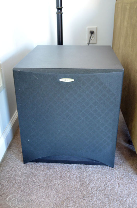 Big, ugly subwoofer