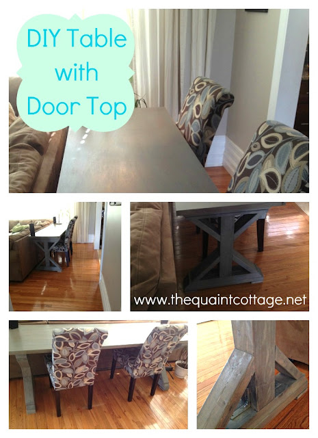 diy console desk table made with hollow core door, diy, doors, painted furniture, woodworking projects, DIY Console Table made with Door