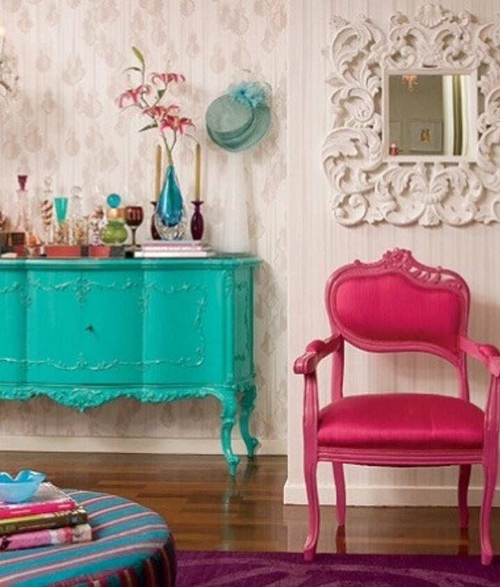 Color Blocking: Mix & Match Furniture
