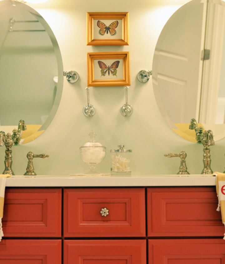 q i want to paint my bathroom cabinets this color any ideas on what i could use i, bathroom ideas, painting