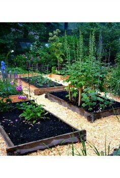 how to create an easy raised garden bed, gardening, raised garden beds, Farmstead raised garden beds from EarthEasy com