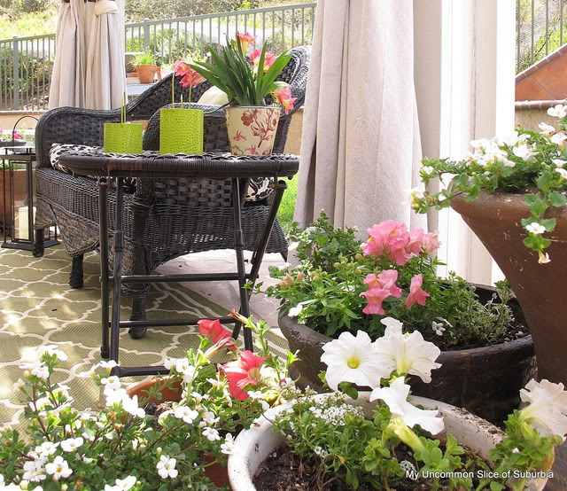 how to use painter tarps as outdoor drapes, outdoor living, repurposing upcycling, reupholster
