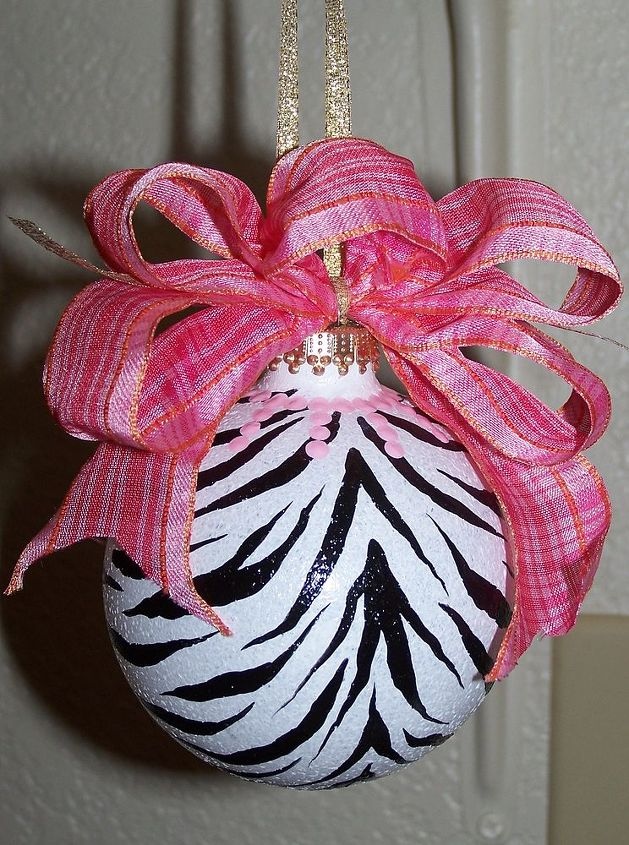 Zebra Ornament by GranArt