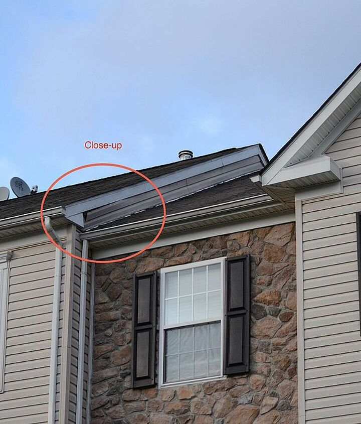 q seeking advice improper installation of vinyl siding, home maintenance repairs, roofing