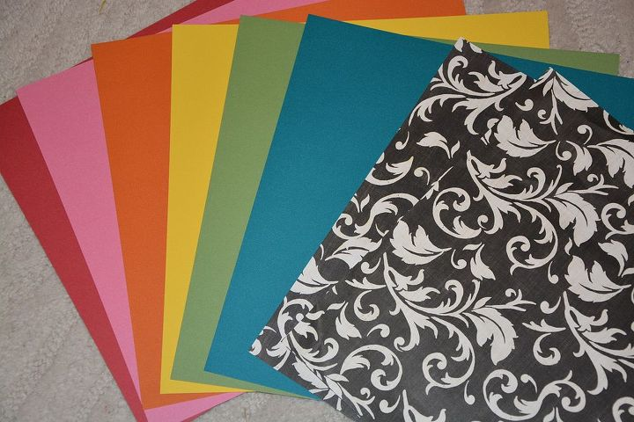 Make A Diy Drawer Organizer From Scrapbook Paper Hometalk
