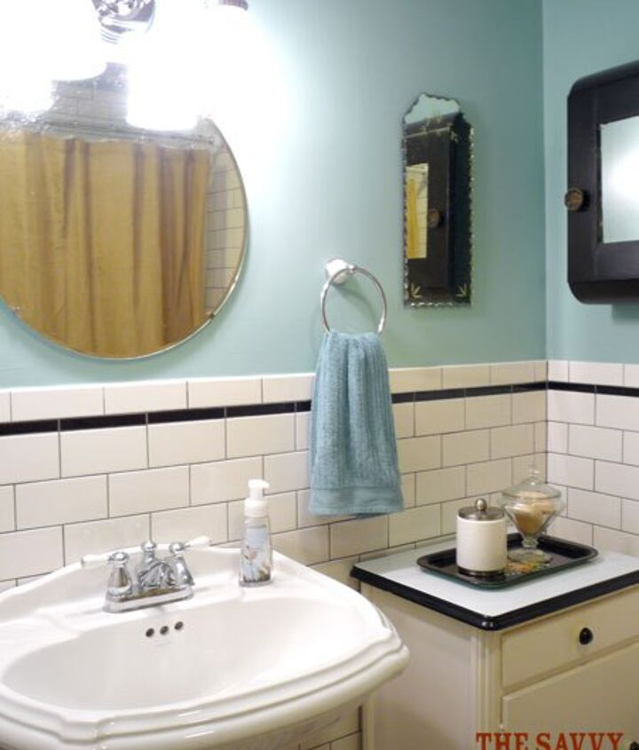 The new antique framless mirrors...art deco style.