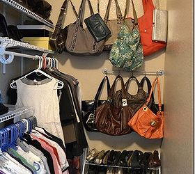 Superbe 5 Purse Storage Solution, Cleaning Tips, Closet, Shelving Ideas, Storage  Ideas,