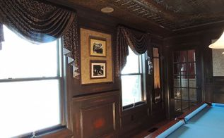 billiard room remodel, entertainment rec rooms, painting, remodeling, walls ceilings, Detail view of finished project