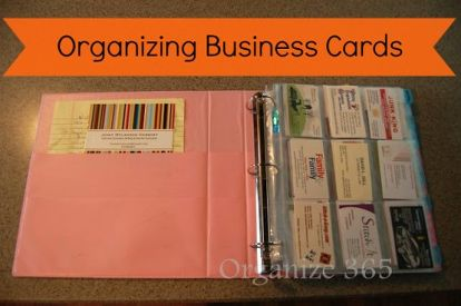 What Do You With The Business Cards Collect At Networking Events Here Is