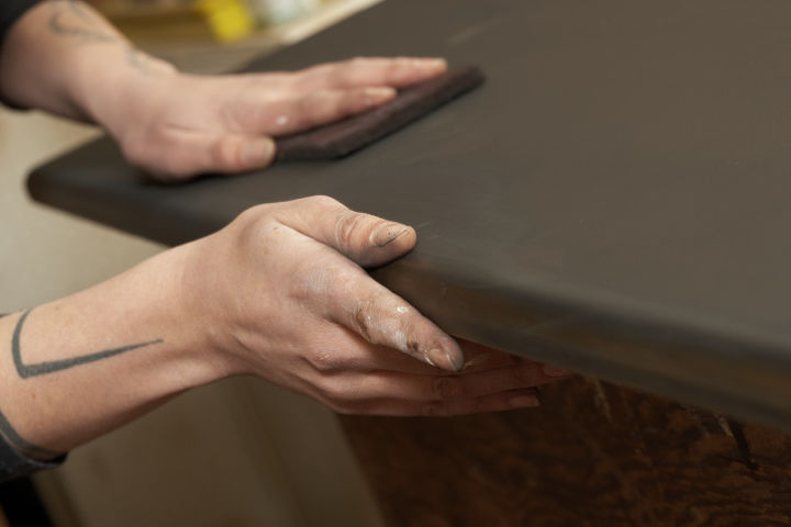 need to find a qualified professional to return the life to your treas, painted furniture