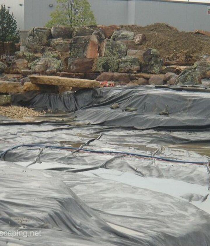 Koi Pond Construction Ideas,  Rochester NY